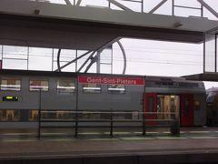 ブルージュから電車でゲントにきました。