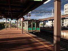 JRで天童駅に到着。