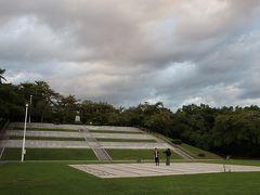天童公園(舞鶴公園)の山の上にある人間将棋の会場。