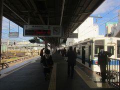 ここで東武アーバンパークラインに乗り換える。