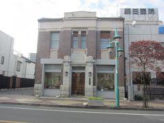 旧中井銀行岩槻支店の東玉大正館 こちらも国登録有形文化財の大正後期に建築された洋館建築の建物です。