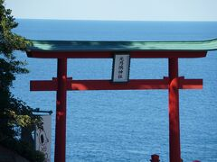 ここは元乃隅稲成神社です。
