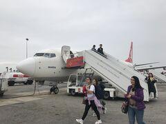 マルタ空港に到着。