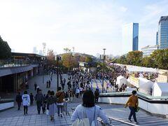 JR大阪駅に戻り、大阪城公園へ移動。ラーメンのイベントをやっていました。