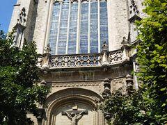 4つめはルーベンスが眠るSt.Jecob教会。入場に3ユーロ掛かりましたが