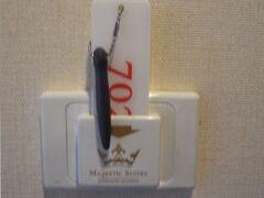 この時の宿泊は【マジェスティックスイーツ】 ナナ交差点近くのミニホテル(入口が分かりにくく、通り過ぎてしまったわ)!