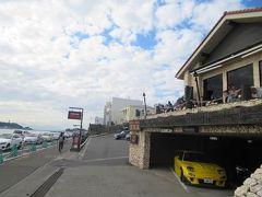 七里ガ浜の人気カレー店・珊瑚礁でランチを取ったあと鎌倉ウォーキングの再開です。