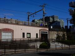 第3駅:桜ノ宮駅 11:13到着 危なく駅の写真を撮り忘れる所だった。
