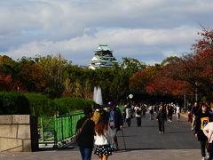 森ノ宮駅からの方が、大阪城がよく見えた