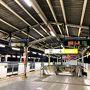 羽田発07:25分に乗るためには 都内某所の自宅から始発の地下鉄に乗り 有楽町から京浜東北線に乗ります。