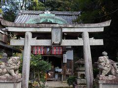 途中「吉水弁財天堂」に立ち寄り参拝。