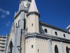 中々立派な教会。