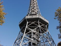 ペトシーン展望台タワーです。 高さ60mあります。 今から昇ることにします。