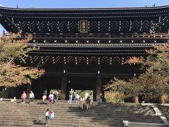 門、でかーい!日本最大とも言われる三門。