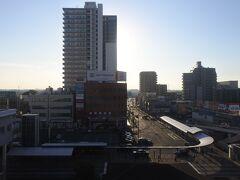 眺望は上尾駅西口。