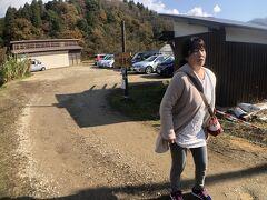 11:05  但馬安国寺の駐車場に着きました。