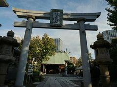 住吉神社はこぢんまりした神社でした。