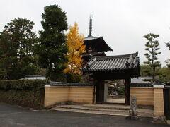 法起寺拝観の後は、歩いて法輪寺に向かい、拝観しました。