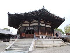 続いては、法隆寺の夢殿を拝観です。