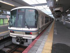 ●大和路快速@JR奈良駅  大阪環状線に入るこの大和路快速で、帰りました。 久々の奈良は、京都と違って、落ち着いた雰囲気で、やっぱり好きだなと感じました。