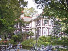 旧三笠ホテル 「寄ってく?」と聞いても「いや~…………」の返事に 軽井沢通過で溜まったイライラ疲れがピークだったので そのまま通過 ちょっと寄ればよかったな(*_*) (これも写真グーグル)