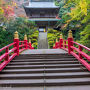 JR東日本ディスティネーションキャンペーンで紹介された栃木県北の古刹の紅葉