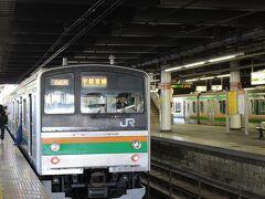 12月10日は毎冬、冬の「青春18きっぷ」のスタートの日。 というわけで18きっぷで、東京から宇都宮線のグリーン車でまず宇都宮駅へ。 東京から約2時間。 宇都宮駅までは15両編成、グリーン車付きですが、ここから先は4両の電車になります。