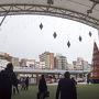 博多からかもめ特急で約2時間、長崎駅に到着です。