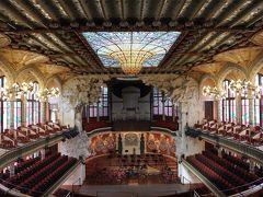バルセロナで一番好きな建築、カタルーニャ音楽堂。
