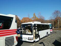 あっという間に到着です。 会場の日光だいや川公園の駐車場。