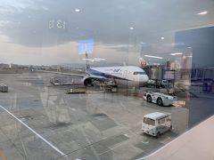 GWの台湾旅行から少し時間がたって、旅行熱が再発。 ウズウズしていたところ、35周年のクリスマスのCMを見て、 どうしても行きたくなってしまいました。  11月に入ってから予約したので、関西空港からは希望の便が取れず、今回は伊丹空港出発。 駐車料金が高くて敬遠していましたが、今は臨時駐車場が出来ていました。 でも、今回は早朝にも関わらず、義両親が送迎してくれて大助かり!