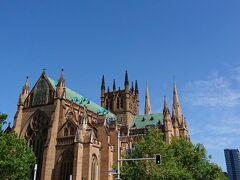 そしてセントメアリー大聖堂へ。