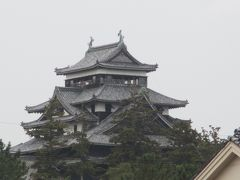 国宝 松江城 昼食後、市内をブラブラ歩き
