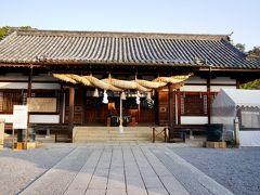 阿智神社は、海の守り神を祀っており、海上交通にご利益があるそうです。