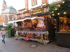 マルクトプラッツ広場のクリスマスマーケットを散策
