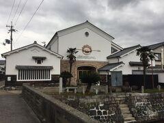 舟板塀のお向かいにあった長濱浪漫ビール。