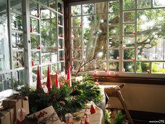 横浜山手・テニス発祥記念館 クリスマス飾り  いつもはパスしていますが、ちょっと覗いてみました。