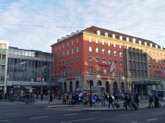 ミュンヘン中央駅。この旅行中何度もお世話になります