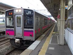 一夜明けて8月9日の朝、6時前から列車に乗って旅を続けます。まずは弘前行の701系電車。  ここは電化区間なのに、前日はなぜかキハ48が走ってたけど、あれは津軽線で使うための気動車だったんだろうか。   https://youtu.be/h3F_YAUItVk