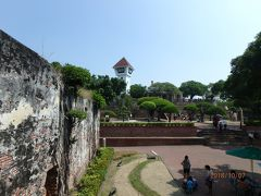 城壁の残存状態はあまりよくありません。  前存している城壁は全体の3割程度でしょうか?    次回は赤崁楼、台南城、左営城です。
