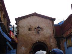 新市街を10分程歩いて、メディナに入るアイン門まで来ました。