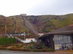 自宅を出て西に車を走らせ、箱根町に入り箱根新道から一号線、そして伊豆スカイライン方面に入ります。  十国峠ドライブインで小休止。  寒いのでだれもケーブルカーで頂上を目指す方はいないようです(笑)