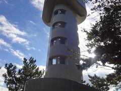 10時前にホテルをチェックアウトします。  向ったのは門脇埼灯台。
