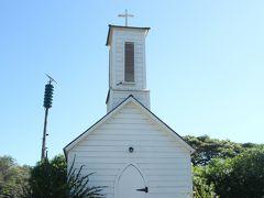 St. Joseph's Catholic Church。 ハンセン病患者を献身的に看病したダミアン神父が建てた教会。
