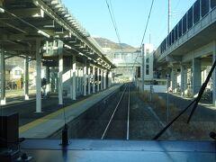 川中島駅通過。