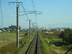 篠ノ井線を進む。