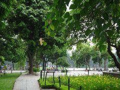 ハノイのオアシス、リータイトー公園。