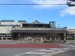 6~7分歩いて長浜駅に戻ってきました。