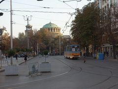 聖ネデリヤ教会 裁判所前広場から撮影