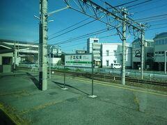 北松本駅通過。